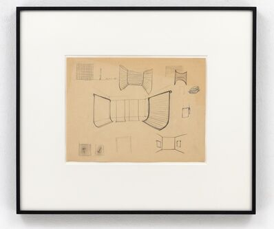 Gerhard Richter, 'Studie für Ausstellungsräume', 1968
