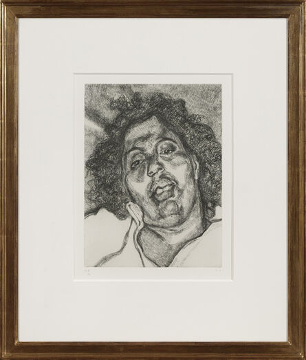 Lucian Freud, 'Solicitor's Head', 2003