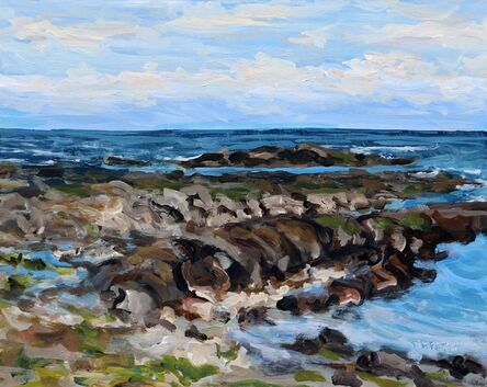 Terrill Welch, 'An Early Spring Sea', 2021