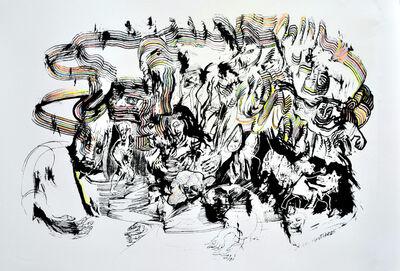 Luis Felipe Noe, 'A los manotazos', 2011-2012