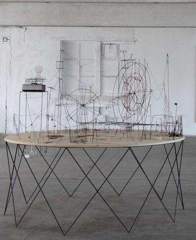 Ante Timmermans, 'Spieltisch', 2011