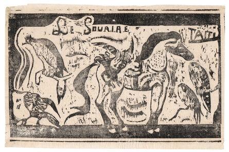 Paul Gauguin, 'Title Page for 'Le Sourire'', 1899