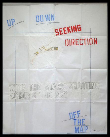 Lawrence Weiner, 'SEEKING DIRECTION', 2015