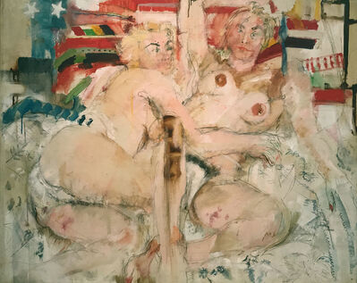 Larry Rivers, 'Double Nude', 1957
