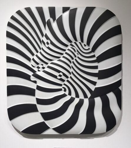 Victor Vasarely, 'Zebra', 1977