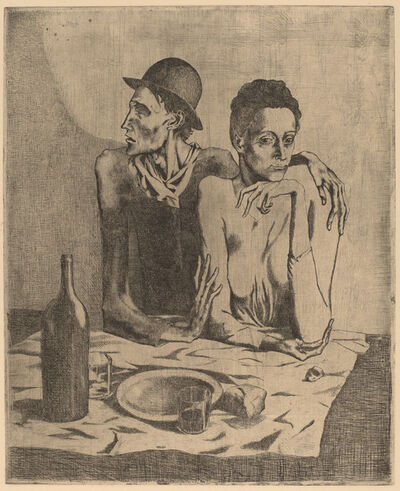Pablo Picasso, 'The Frugal Repast (Le repas frugal)', 1904