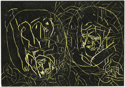 Georg Baselitz, 'Frau und Frau', 1994
