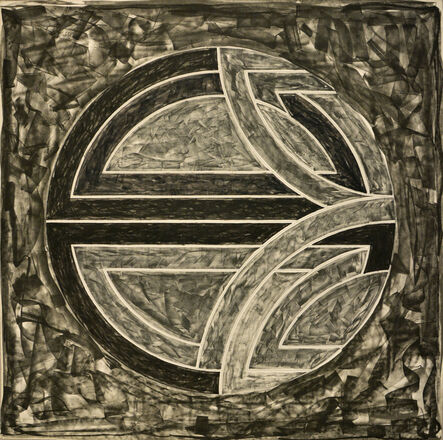 Frank Stella, 'Sinjerli Variations Squared with Black Grounds (I)', 1982