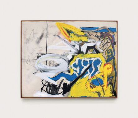 Arthur Lanyon, 'Horsemarks', 2020