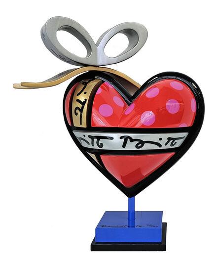 Romero Britto, 'HEART', ca. 2000