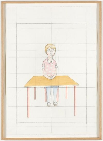 Peter Land, 'An attempt at reconstructing my elementary school class based on my memory', 2012