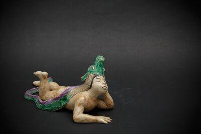 Kensuke Fujiyoshi, '5. The dragon boy (elbow pillow)', 2012