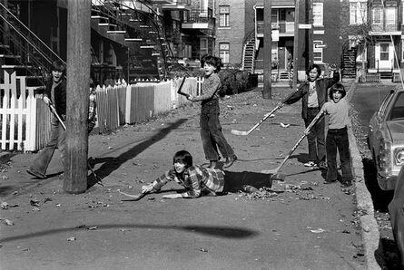 Réjean Meloche, 'Hockey de Rue', 1972