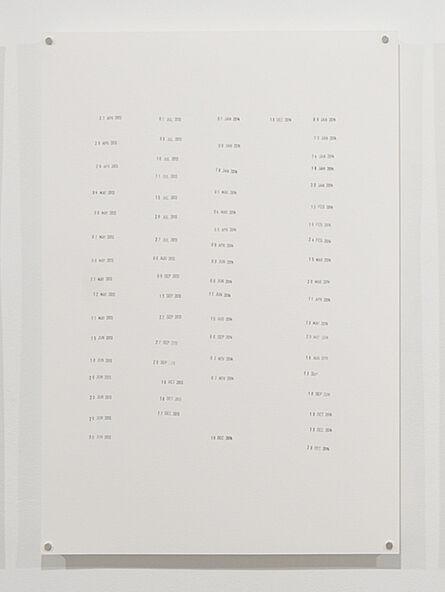 Ayesha Jatoi, 'Untitled 4', 2016