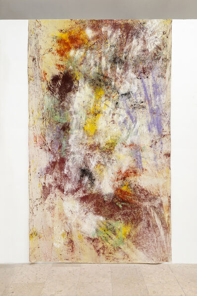 Jessica Warboys, 'Sea Painting, Dunwich', 2015