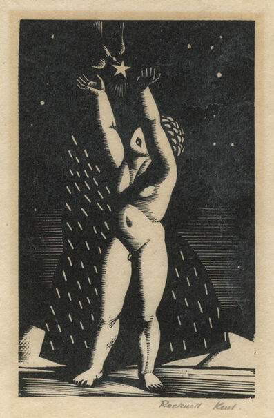 Rockwell Kent, 'Child and Star', 1927