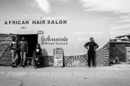 Mantala Nkoatse & Zivanai Matangi, 'My Body is a Museum (Hair Salon)', 2019
