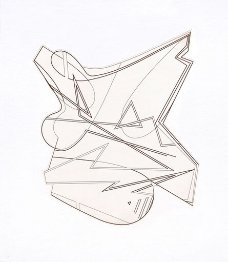 Michael Heizer, 'Hard Edge Etching 2', 2016