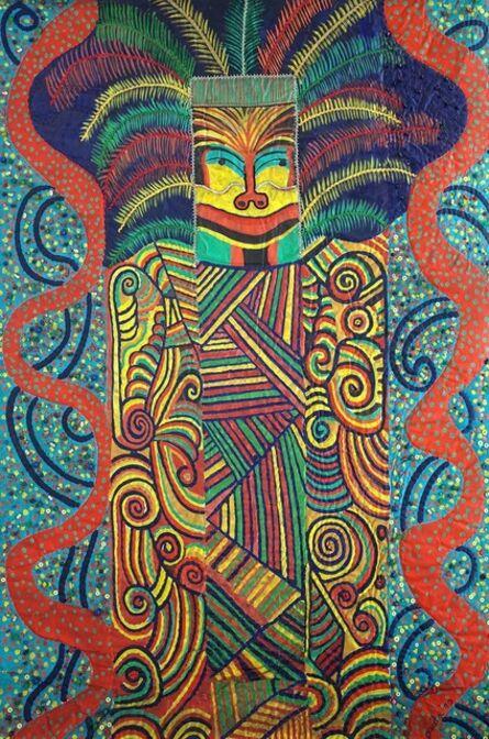 Pacita Abad, 'Hopi mask', 1990
