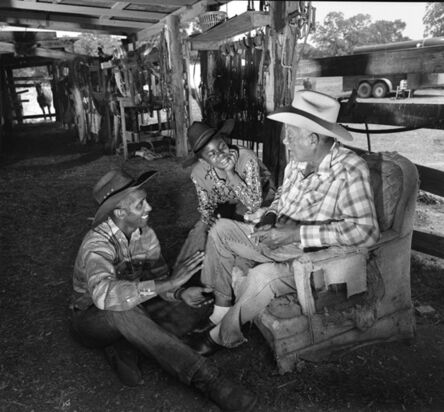 Manuello Paganelli, 'Generations (Grandfather, father and daughter), Texas ', 1994