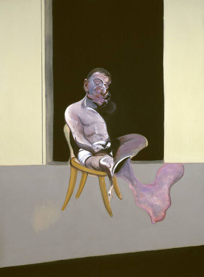 Francis Bacon, 'August Triptych, Right Panel', 1972