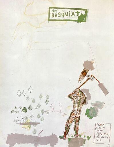 Jean-Michel Basquiat, 'Basquiat Hans Meyer exhibition poster (Basquiat Hans Meyer 1988) ', 1988