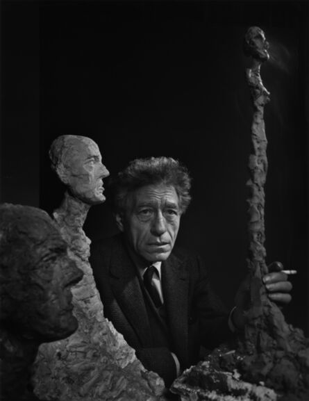 Yousuf Karsh, 'Alberto Giacometti', 1956
