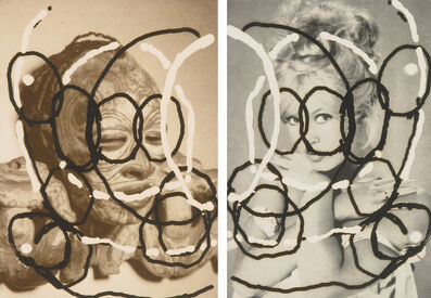 Al Taylor, 'Untitled (Pair of Heads)', 1995