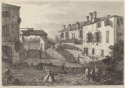 Canaletto, 'Le Porte Del Dolo', ca. 1735/1746