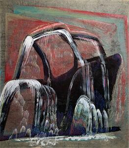 Morris Graves, 'WATERFALL (dark)', 1943