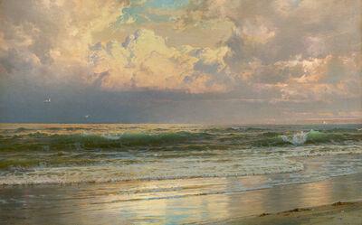 William Trost Richards, 'Coastal Landscape at Dawn', 1897