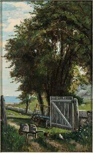 Frank Henry Shapleigh, 'Lane at Cohasset'