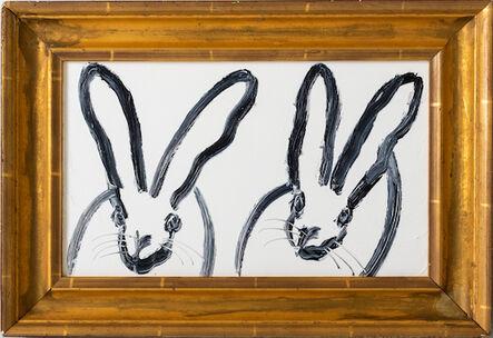 Hunt Slonem, 'Double Bunny', 2020