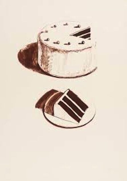 Wayne Thiebaud, 'Chocolate Cakes (from Seven Still Lifes and a Silver Landscape', 1971
