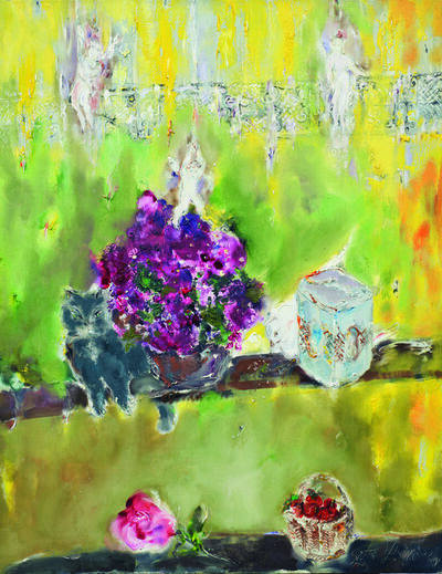 SRĐAN VUKČEVIĆ, 'White Pigeon', 2008