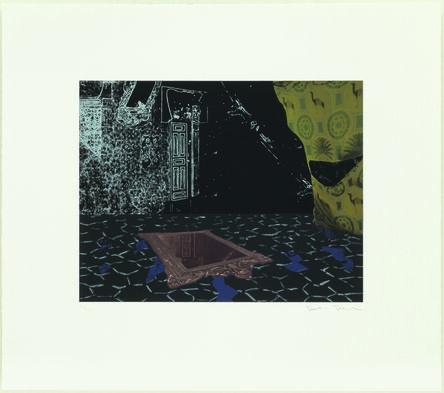 Dexter Dalwood, 'The Apartment (after Delacroix) I', 2012