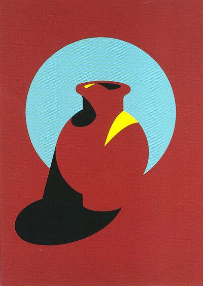Patrick Caulfield, 'Brown Pot', 1994