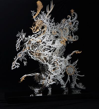 Shih-Pin Hsi, 'Symbolic steed of Memory', 2014
