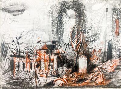 Gregory Crane, 'Study for Blimps', 1998