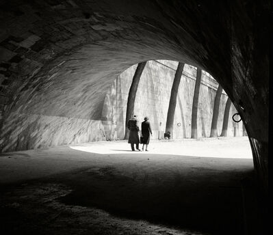 Herbert List, 'At the Seine. Paris, France', 1936