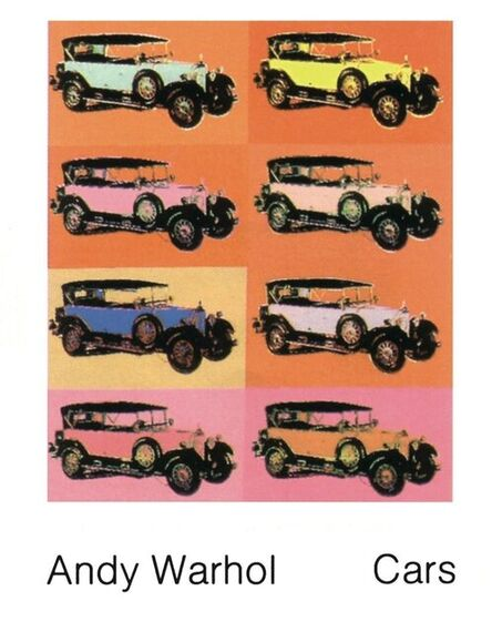 Andy Warhol, 'Mercedes Type 400 (1925)', 1989