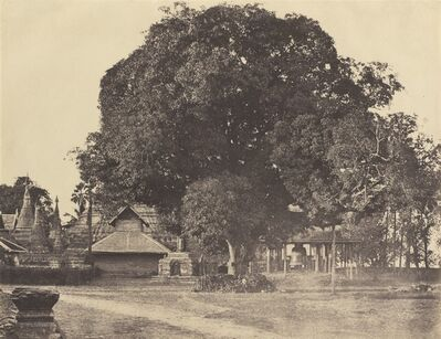 Linnaeus Tripe, 'Rangoon: Great Bell of the [Shwe Dagon] Pagoda', November 1855