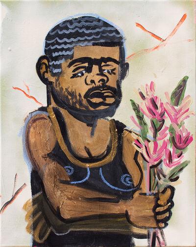 Jonathan Lyndon Chase, 'Man with Flower', 2017