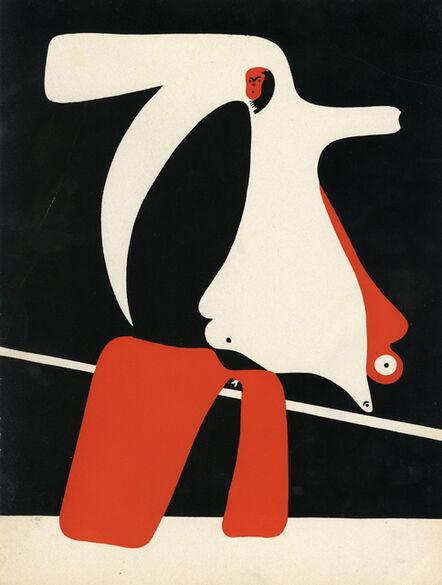 Joan Miró, 'Cahiers d'art, Surrealist Composition 1', 1934