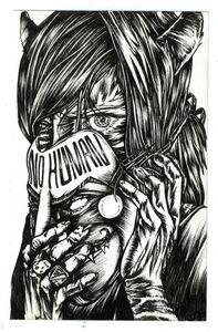 Julio Cesar Candelario, 'No Human Cat Mask', 2015
