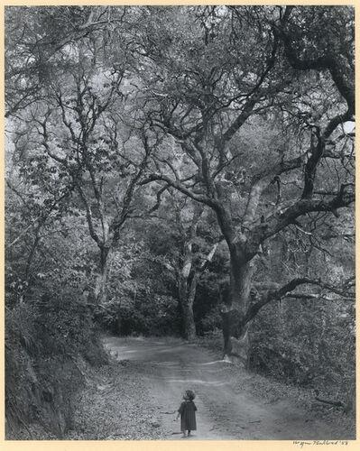 Wynn Bullock, 'Boy on Forest Road', 1958