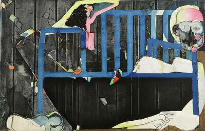 Magnus Plessen, 'The Blue Bench', 2015