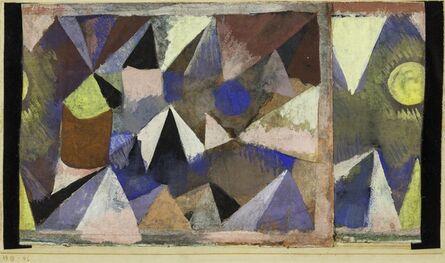 Paul Klee, 'Berglandschaft', 1918