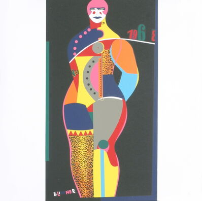 Richard Lindner, 'Fun City from Multiples', 1968