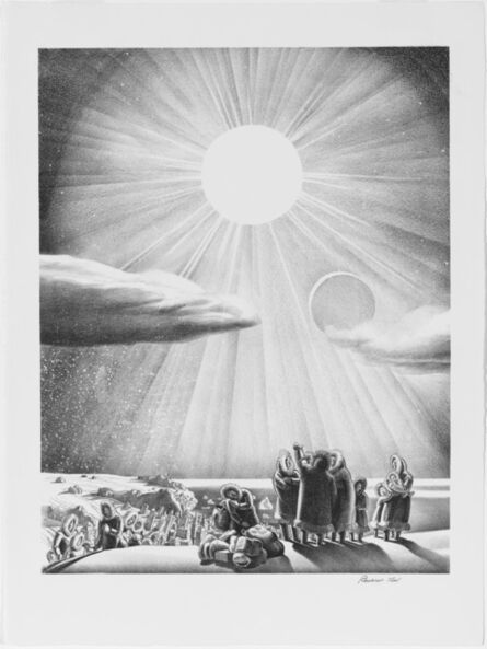 Rockwell Kent, 'Solar Fade-Out', 1937